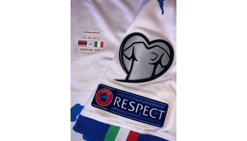 Pellegrini's Match Shirt, Armenia-Italy 2019