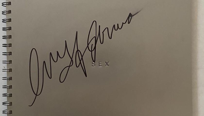'Sex' Original Book Hand-Signed by Madonna