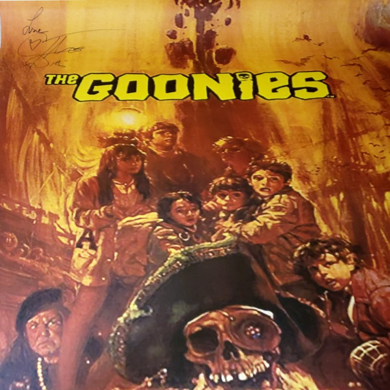 "Corey Feldman Hand Signed ""The Goonies"" Movie Poster"