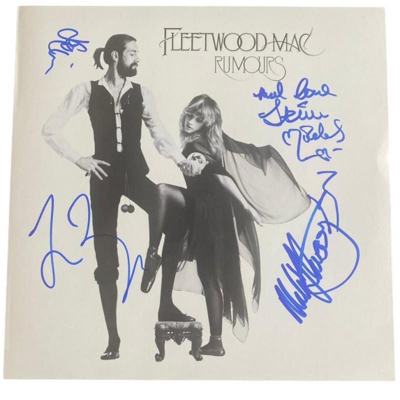 Fleetwood Mac Signed Rumours Vinyl LP
