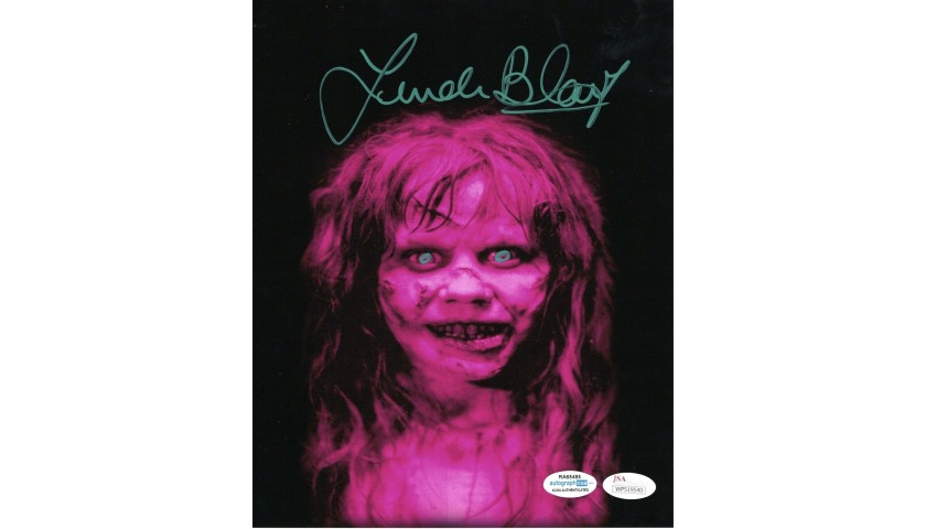 "Linda Blair ""The Exorcist"" Hand Signed 8""x10"" Photo"