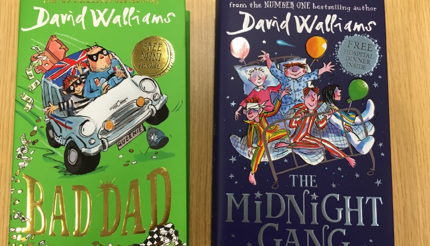 Signed Copies of David Walliams' New Books
