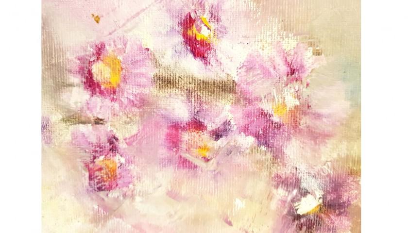 """Natura morta in rosa"" by De Laurentis"