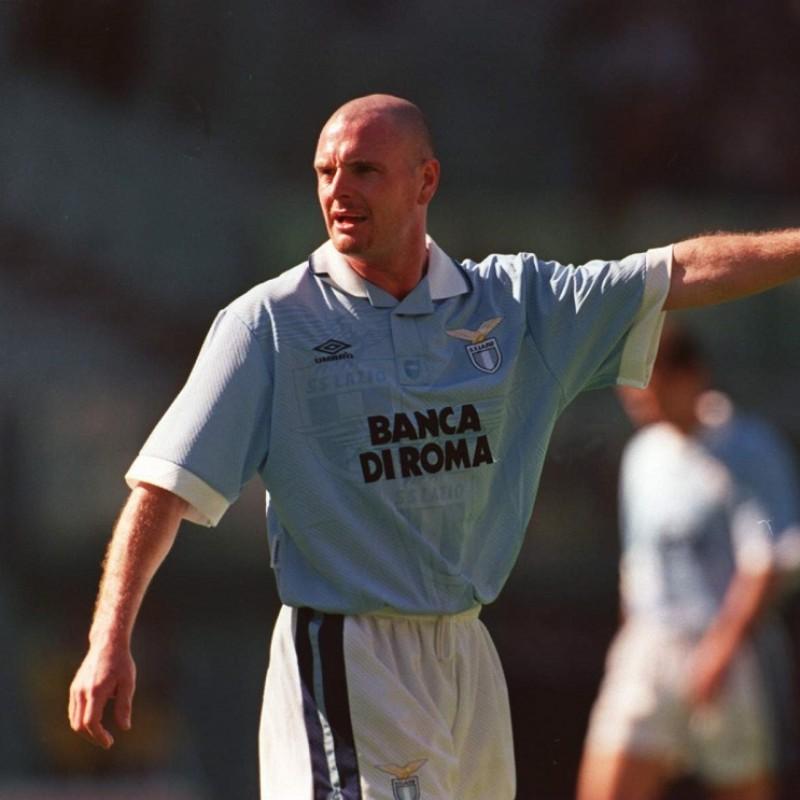Gascoigne's Official Lazio Signed Shirt, 1994/95