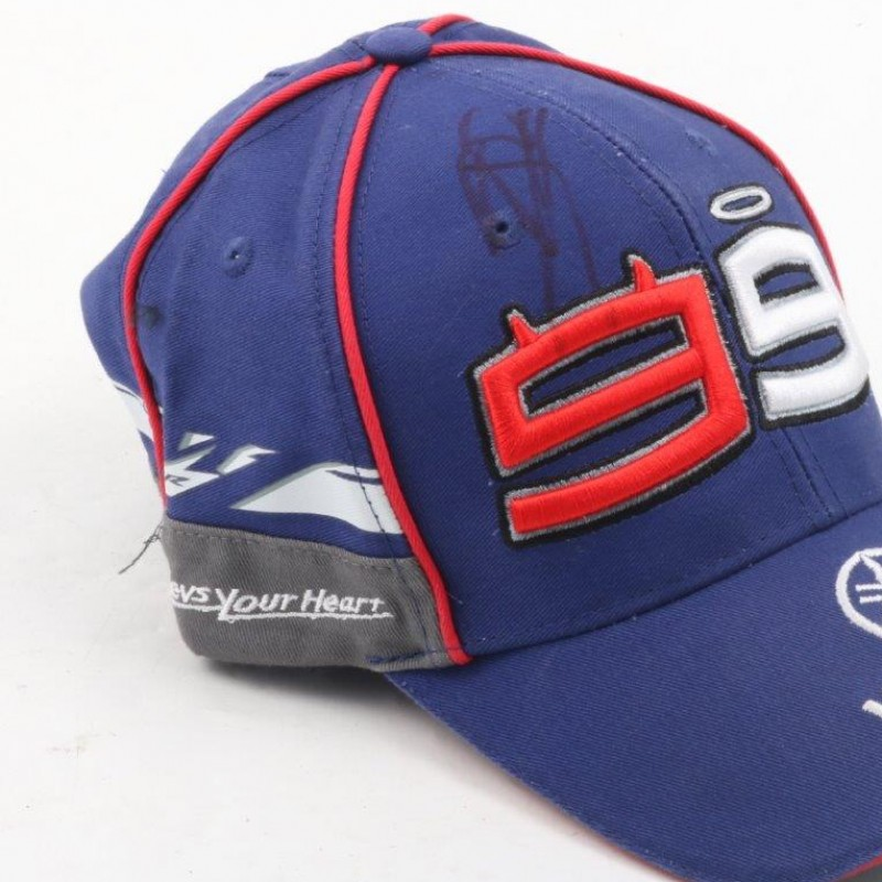 Official Yamaha hat, signed by Jorge Lorenzo
