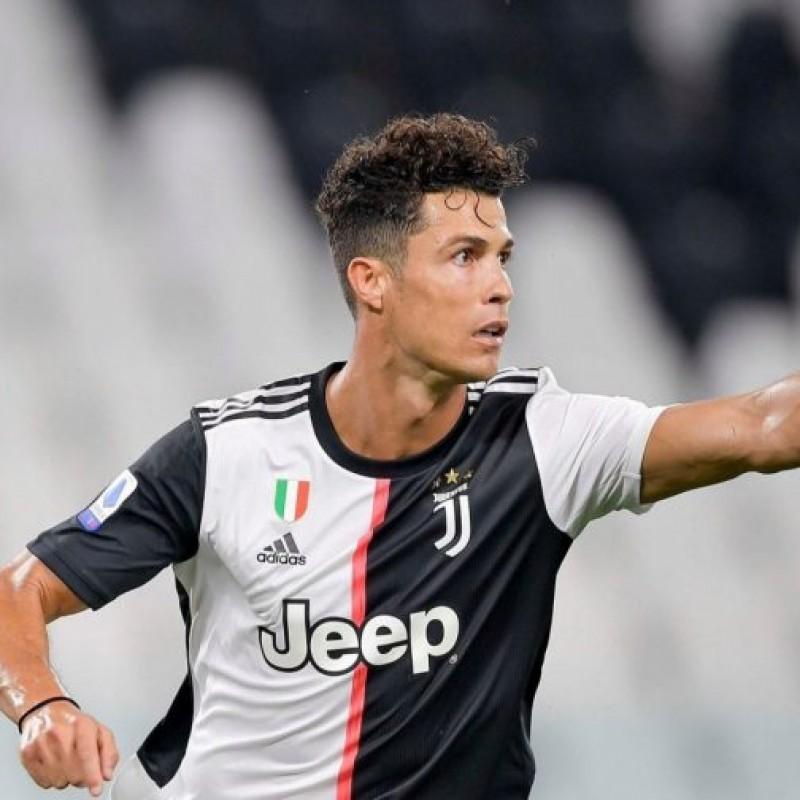 Nike Shin Pads - Signed by Cristiano Ronaldo