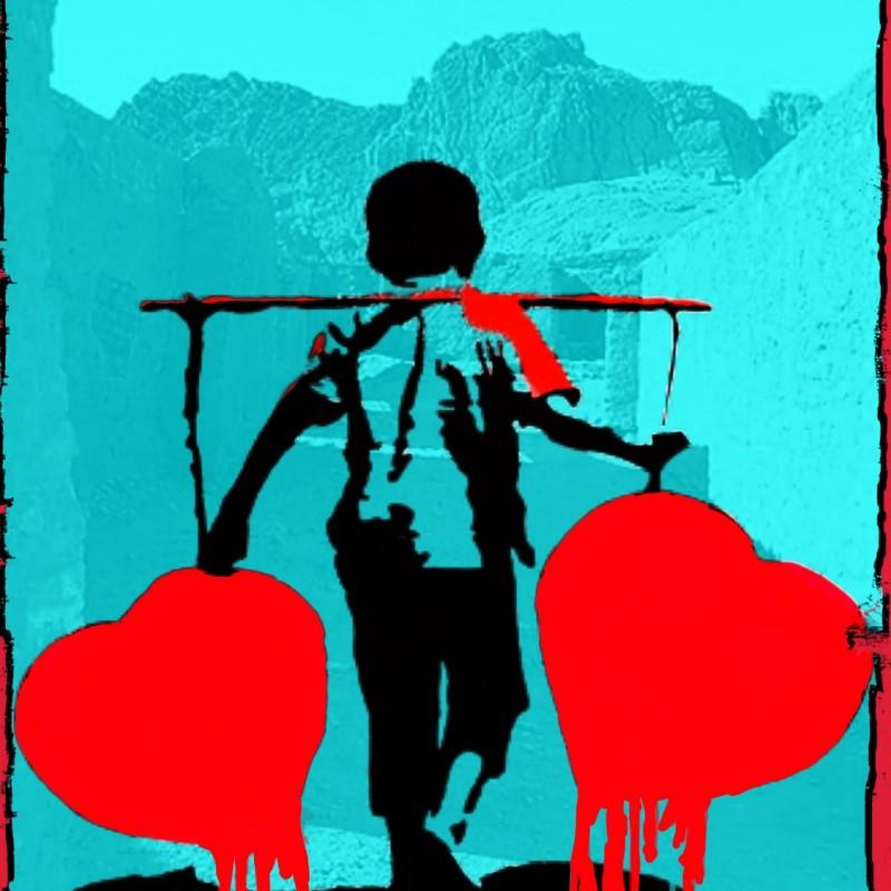 """""""Kabul vs Banksy"""" by Mr Ogart"""