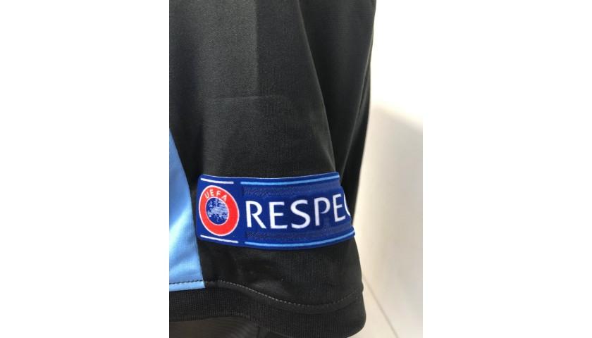 Milinkovic-Savic's Lazio Worn Shirt, EL 2018/19