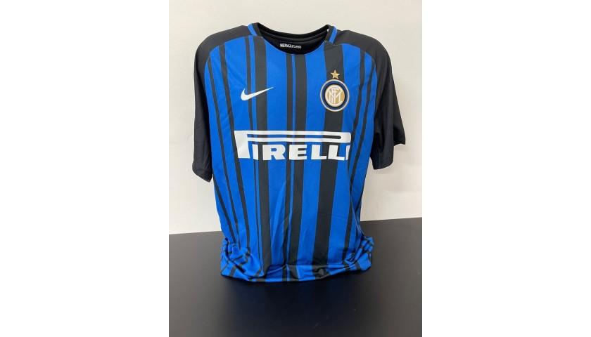 Miranda's Official Inter Signed Shirt, 2017/18