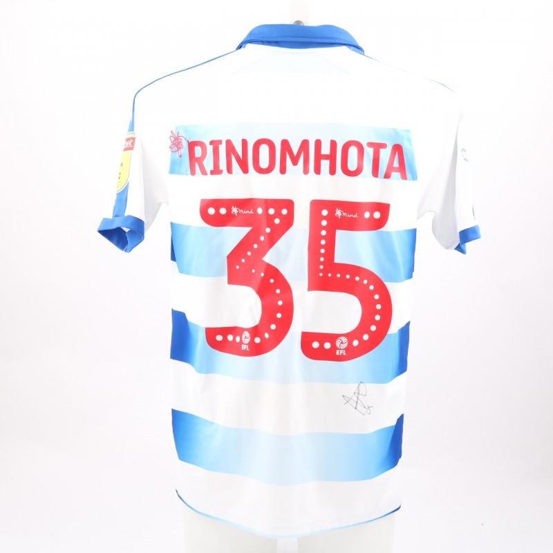 Rinomhota's Match-Worn Reading FC Signed Poppy Home Shirt