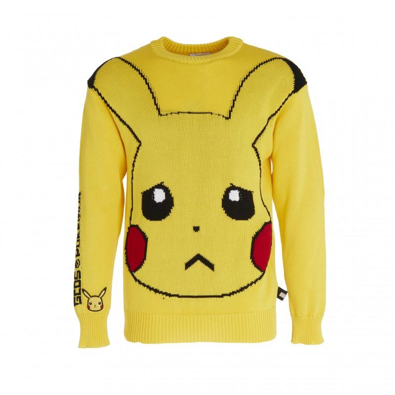 Pikachu Sweater by GCDS