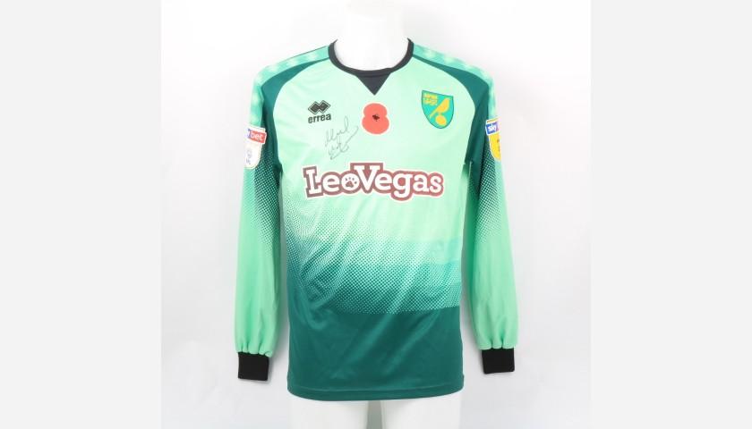 McGovern's Norwich Poppy Match Shirt - Signed
