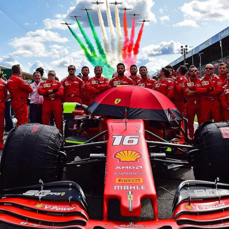 Official F1 VIP Hospitality for 2 - 2022 Italian Grand Prix in Monza