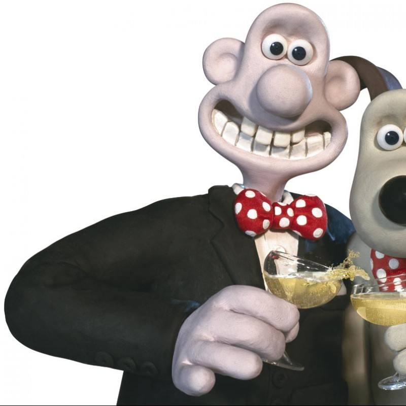 Wallace & Gromit Iconic Original Drawing Signed By Nick Park Ardman Animation