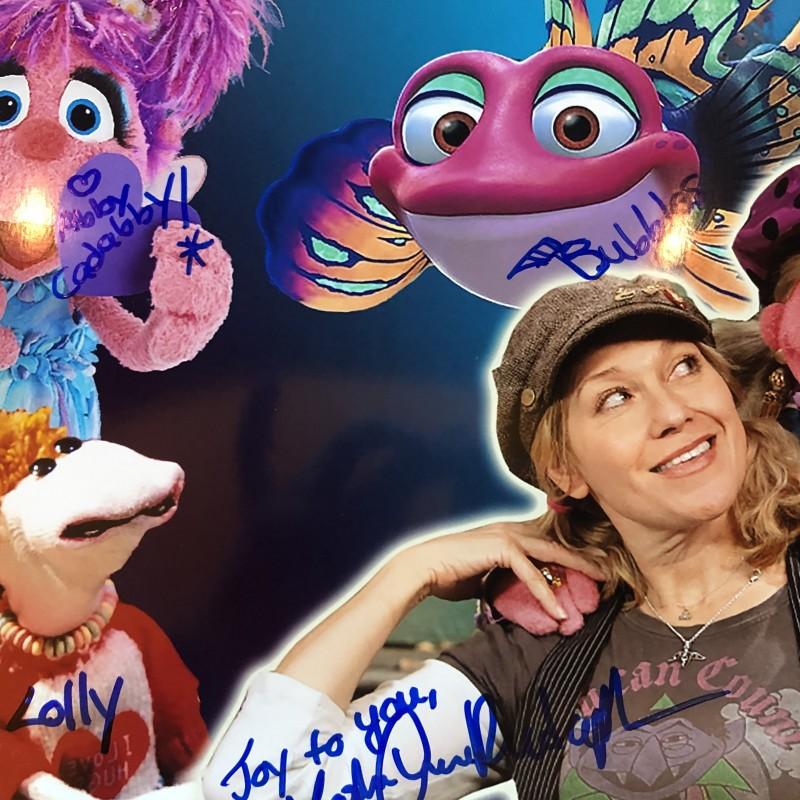 """Leslie Carrara-Rudolph Autographed """"Abby Cadabby"""" Photo"""