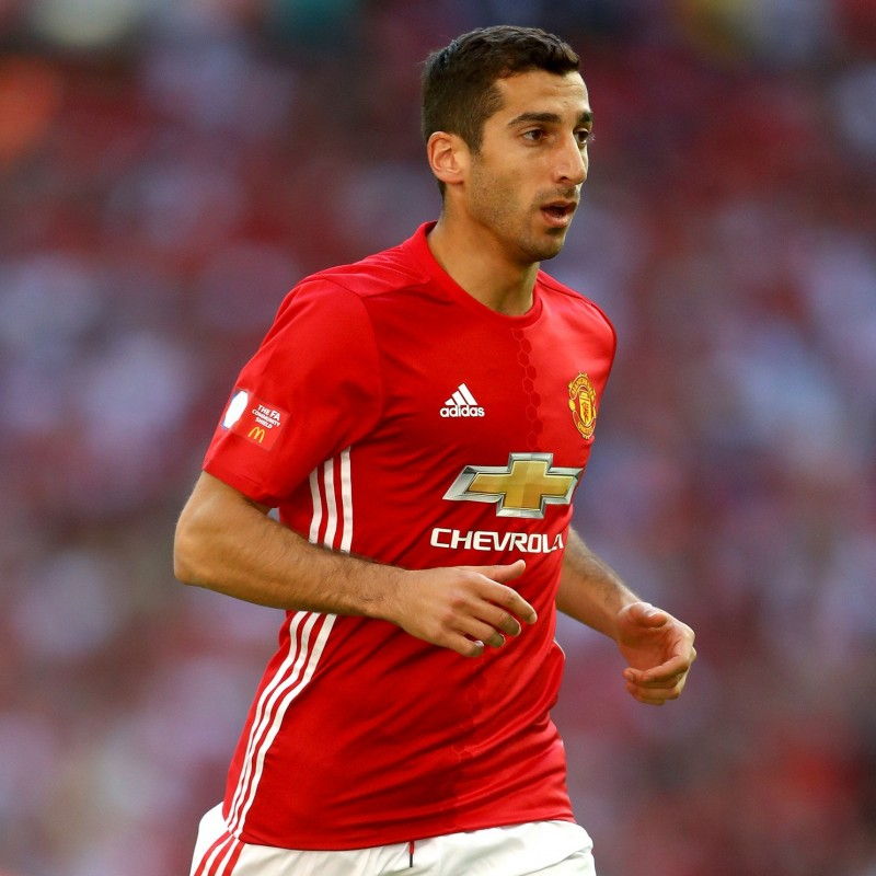 Mkhitaryan's Match-Issue/Worn Shirt, Community Shield 2016