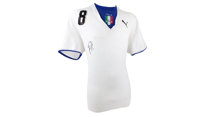 Gattuso's Official Italy Signed Shirt, 2005/06