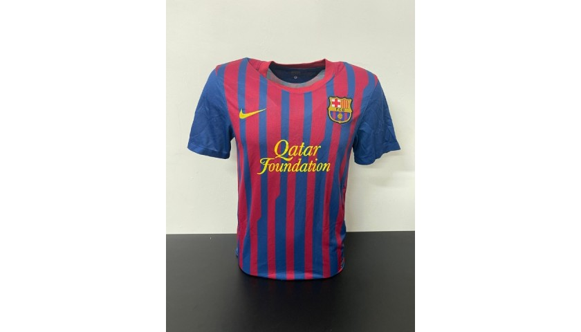 Puyol's Official Barcelona Signed Shirt, 2011/12