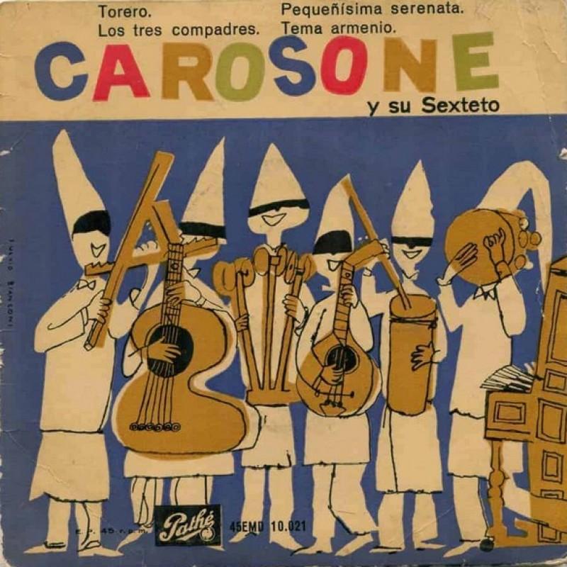 """""""Torero"""" Vinyl Single - Renato Carosone y su sexteto, 1958"""