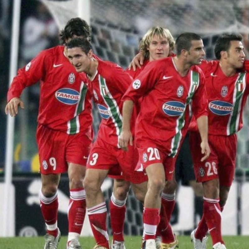 Kovac's Juventus Match Shirt, Serie A TIM 2005/06