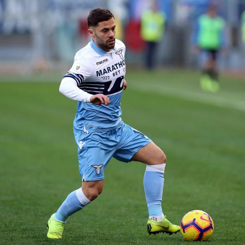 Durmisi's Lazio Worn Shirt, Serie A 2018/19