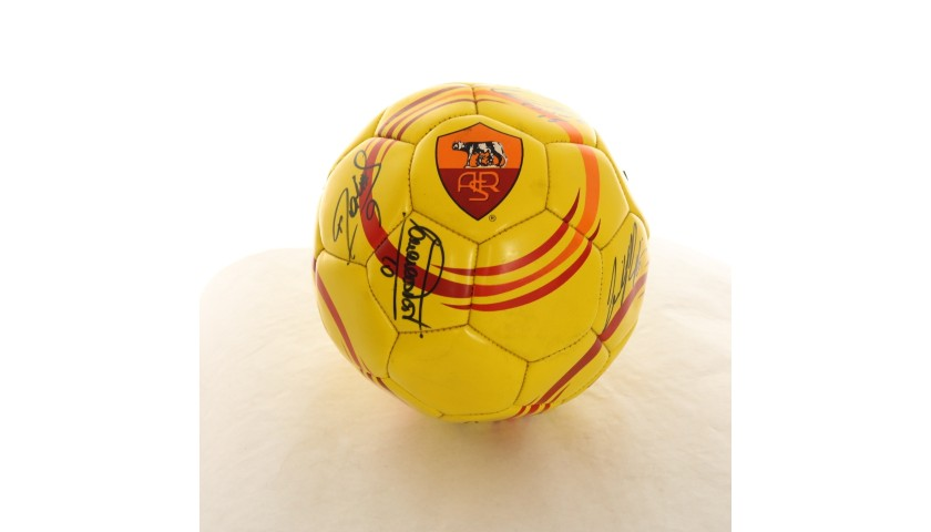 Official Roma Football - Signed by the Players