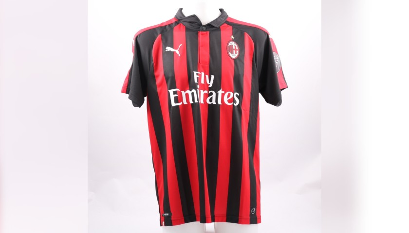 Cutrone's Official AC Milan Signed Shirt, 2018/19