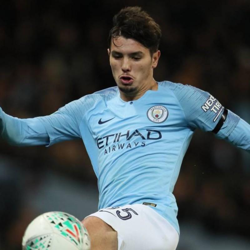Diaz' Manchester City Match-Issued Shirt, Premier League 2018/19