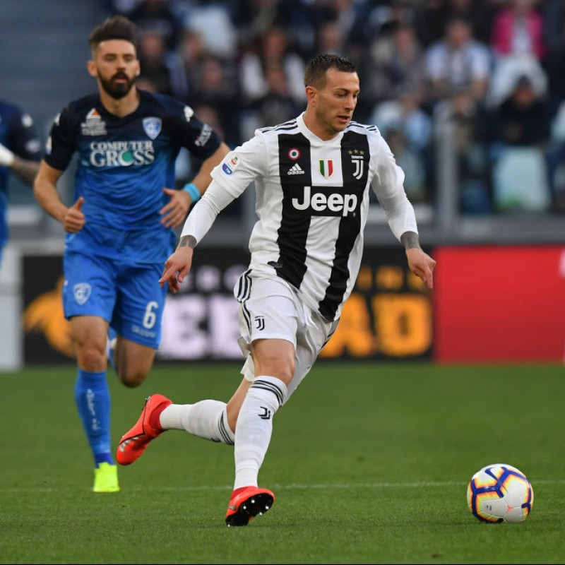 Bernardeschi's Worn and Unwashed Shirt, Juventus-Empoli 2019