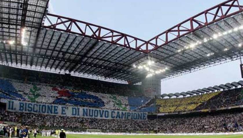 Watch Inter-Roma at the SanSiro stadium
