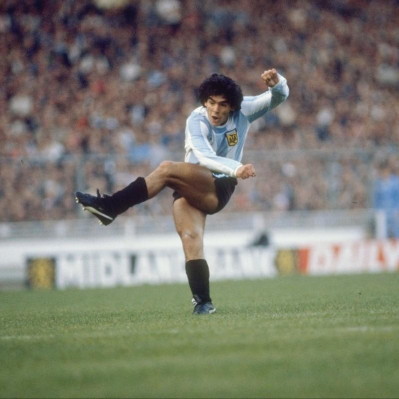 Maradona's Match-Worn Puma Cleats, 1982/83 Season