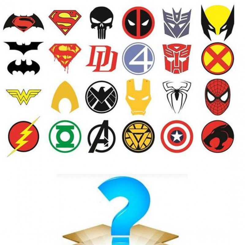 Superheroes Mystery Box