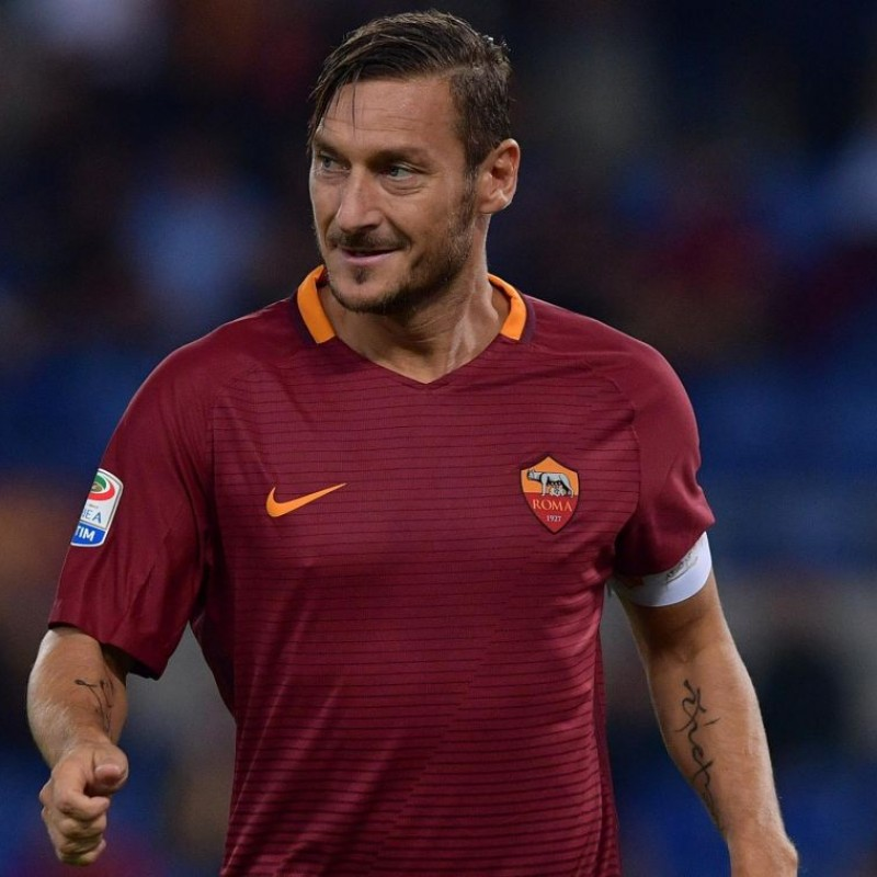 Totti's Official Roma Signed Shirt, 2016/17