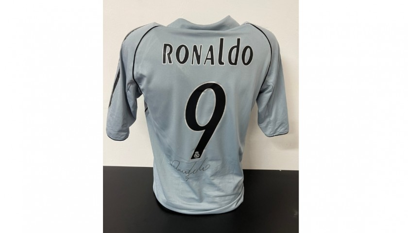 Ronaldo's Official Real Madrid Signed Shirt, 2005/06