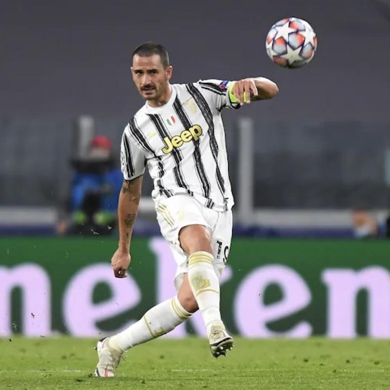 Bonucci's Official Juventus Signed Shirt, 2020/21