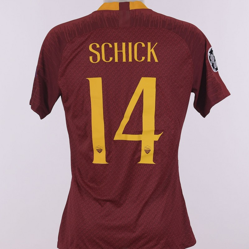 Schick's Worn Shirt, Roma-Real Madrid CL 18/19