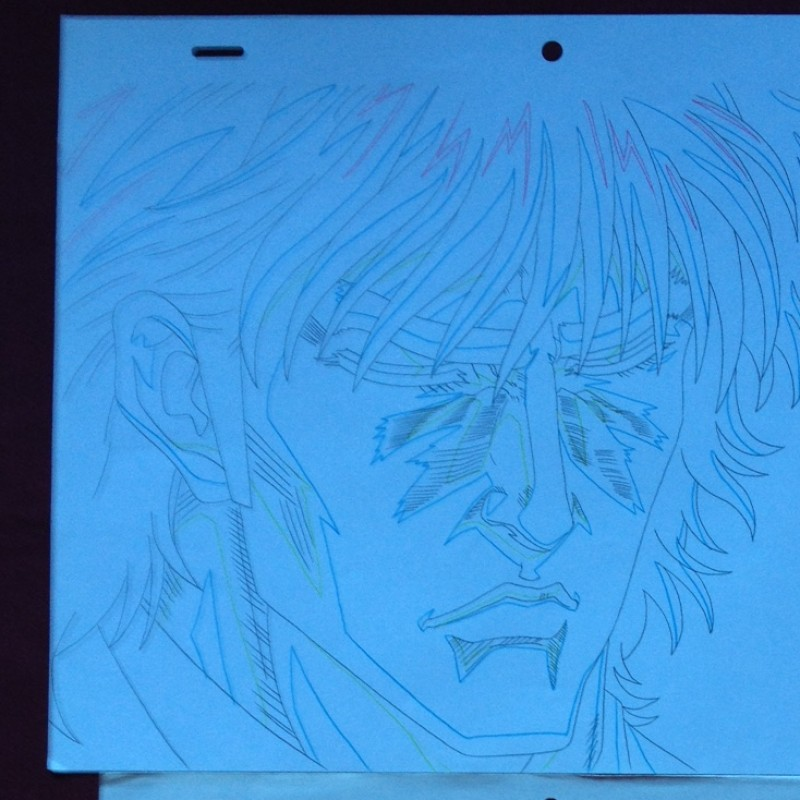 FIST OF THE NORTH + Tiger Man 2 - origal drawing