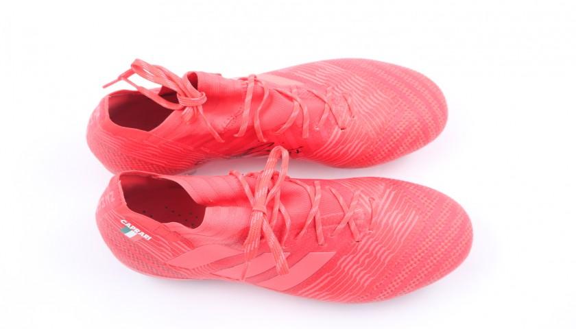 Caprari's Adidas Nemeziz Match-Issue Signed Boots