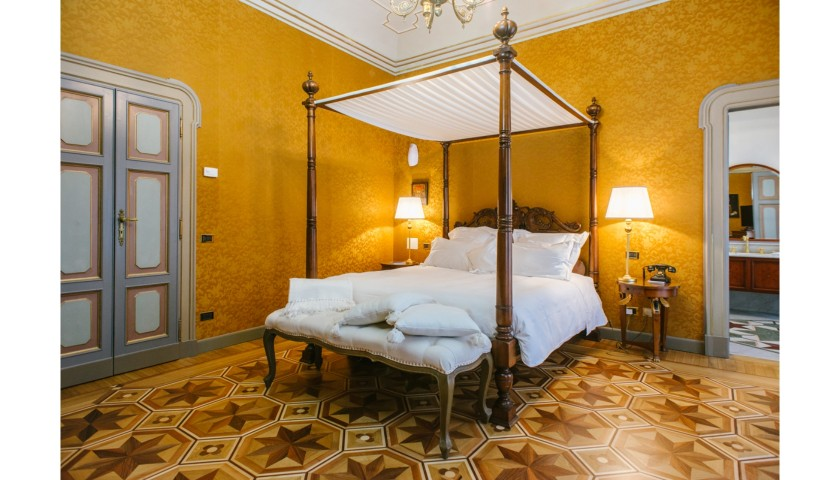 Enjoy a One-Night Stay for Two at Villa Crespi Relais & Chateaux