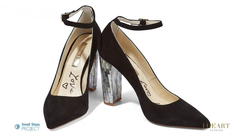 Kate Moss Signed Shoes