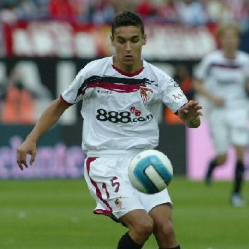 Jesus Navas' Seville Signed Shirt, 2006/07
