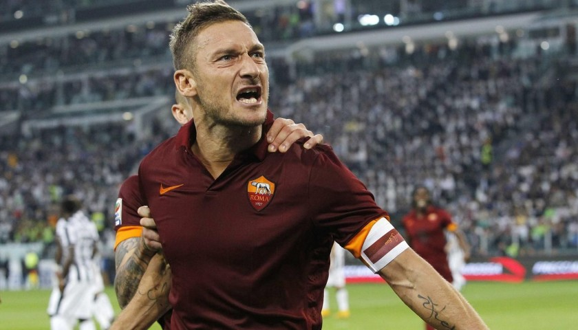 Totti's Match-Issued Captain's Armband, 2014/15