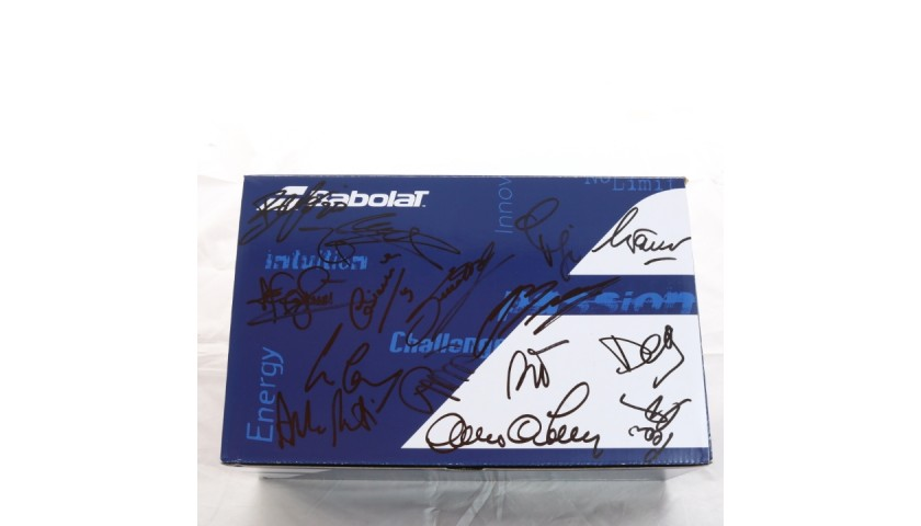 Babolat Sneakers from the Michelin Celebrity Padel Tour - Signed by the Players