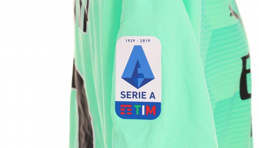 Donnarumma's Worn Shirt, Milan-Cagliari 2020