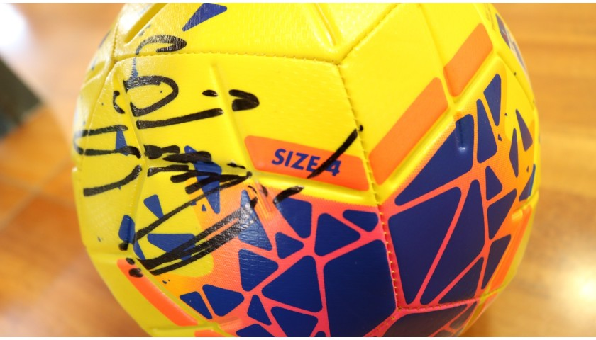Official Football Serie A 2019/20 -  Signed by Inter