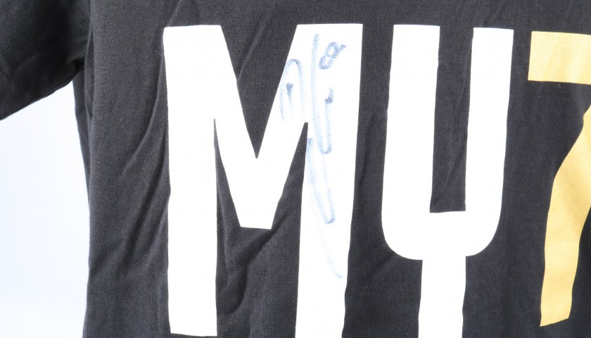 Juventus Scudetto #MY7H T-Shirt - Signed by Dybala