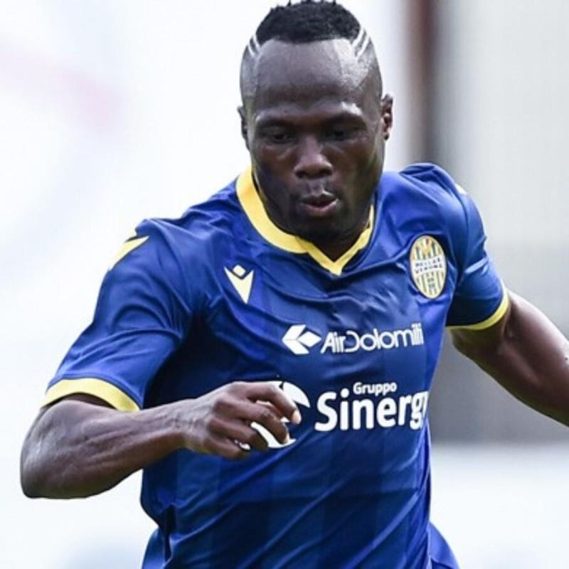 Badu's Match-Issued Shirt, Hellas Verona-Atalanta 2020