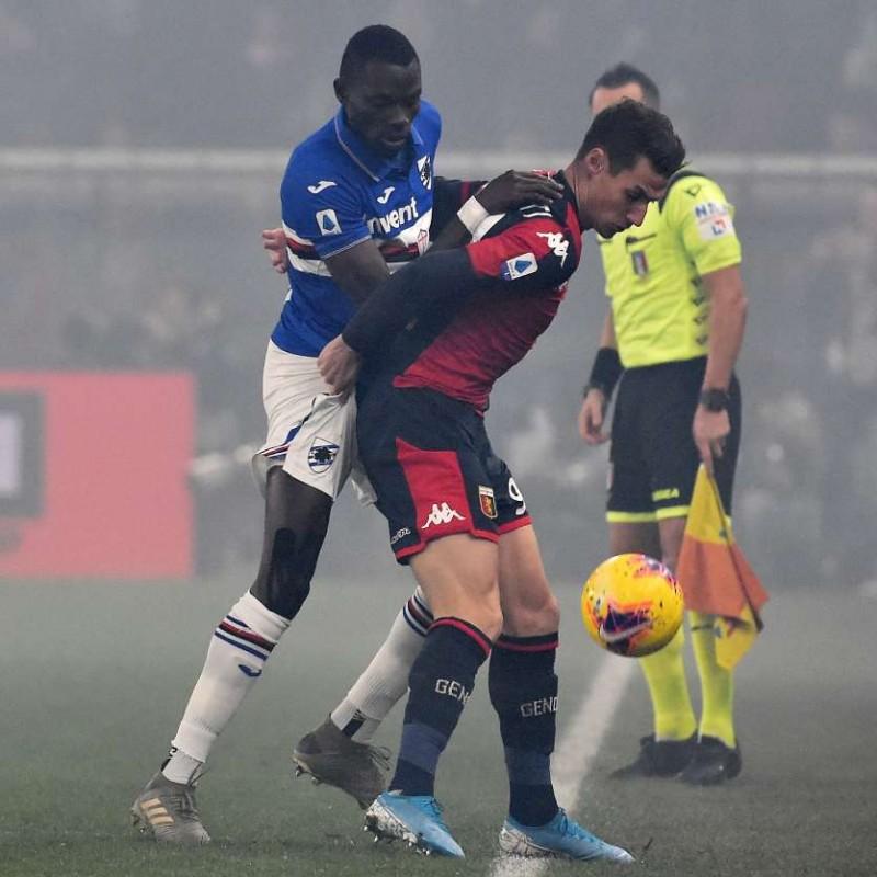 Colley's Worn Shirt, Genoa-Sampdoria, Special Gaslini
