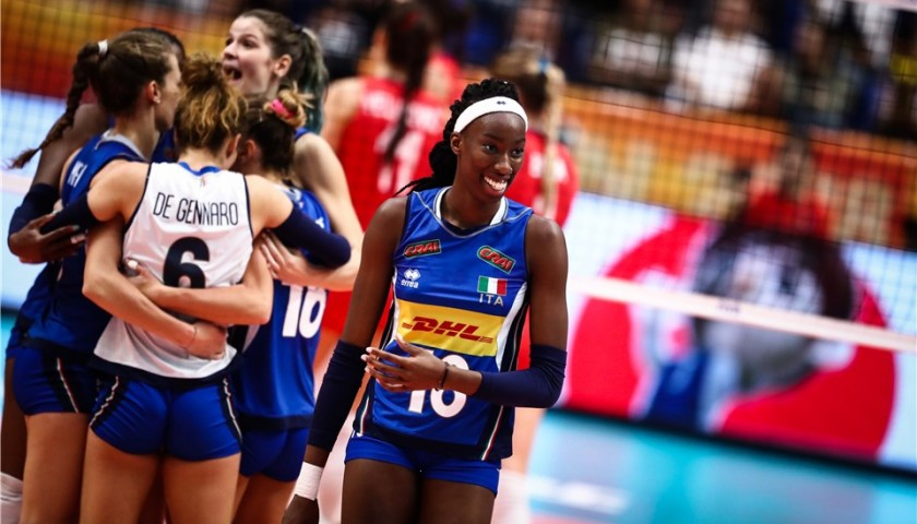Egonu's Worn Shirt, Friendly in Volleyball World Championships 2018