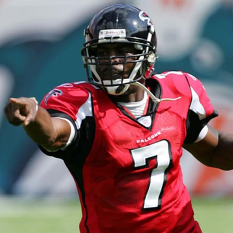 Vick's Official Atlanta Falcons Signed Jersey